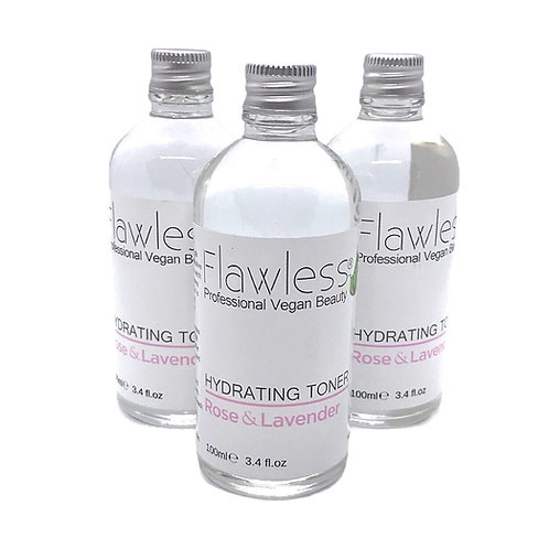 Flawless Rose & Lavender Hydrating Toner 100ml