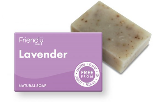 Friendly Lavender Soap Bar
