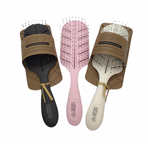 Lotus Eco Friendly Hair Brush (3 colours)