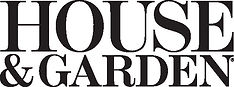 House & Garden Magazine Logo for In the Press page