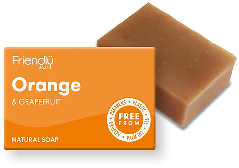 Friendly Orange & Grapefruit Soap Bar