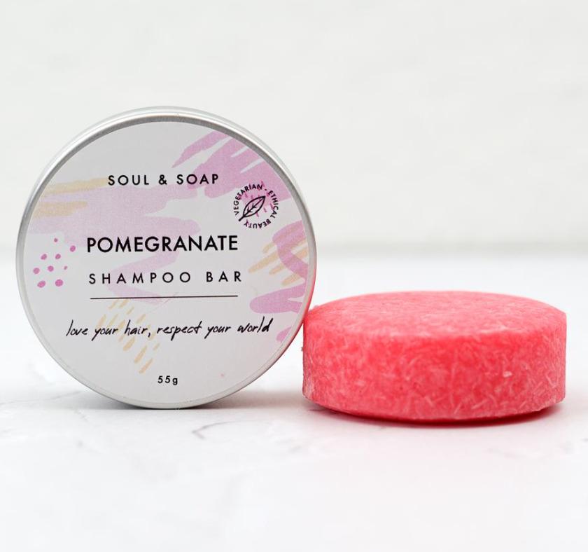 Pomegranate Shampoo Bar