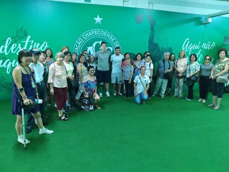 Turistas Japoneses em Chapecó SC