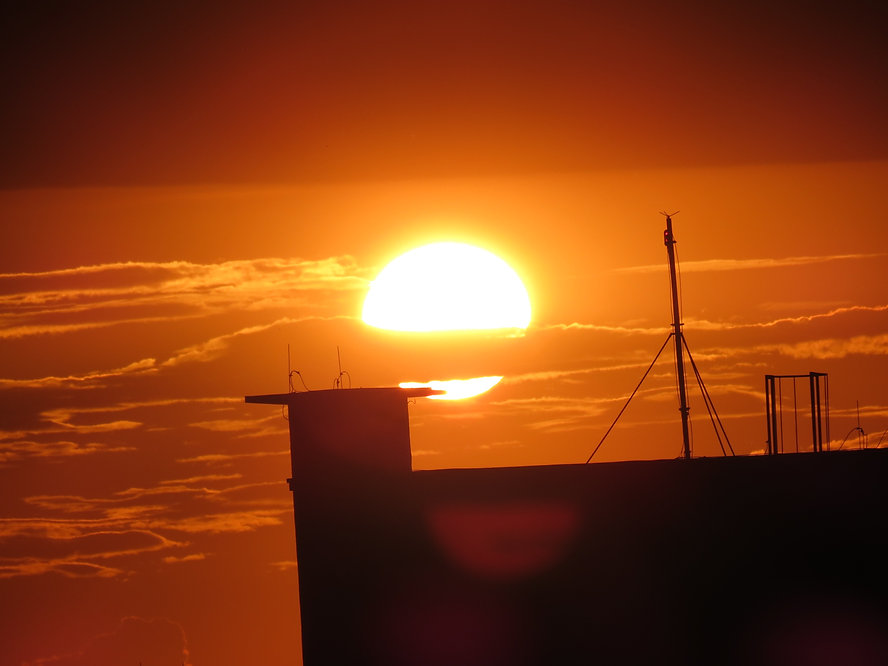 Pôr do Sol em Chapecó