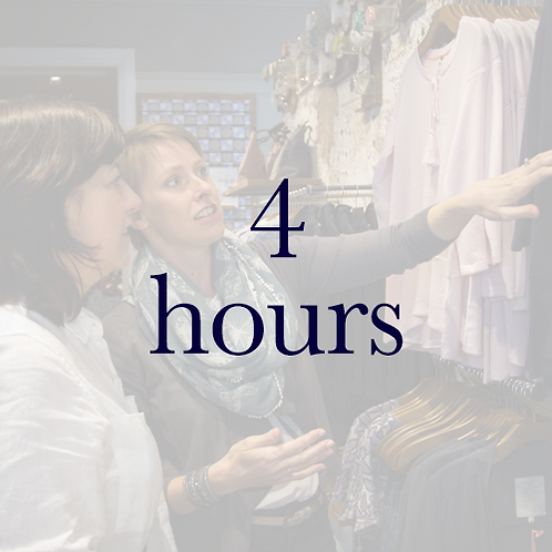 Personal Shopping Experience - 4 hours