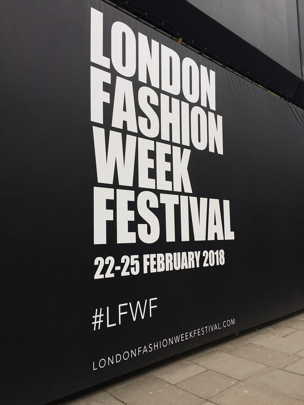 London Fashion Week, styling, catwalk show