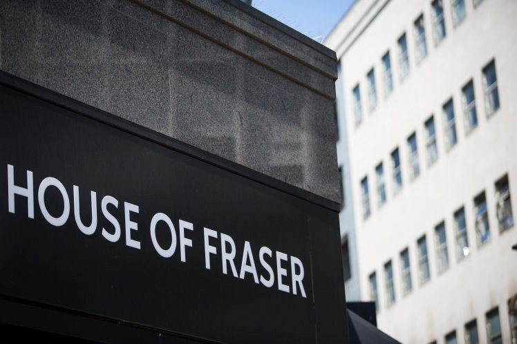 House of Fraser, High Street Store, Shopping