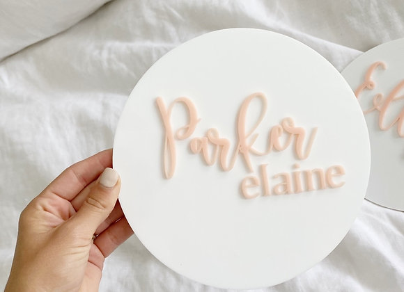 Luxe 3Dname disc