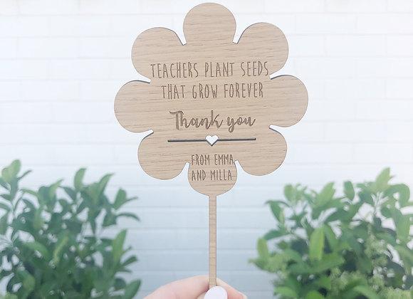 Thankyou teachers flower spike