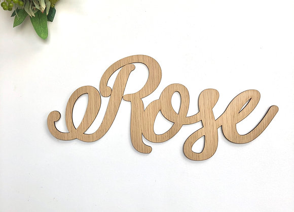 Calligraphy name plaque