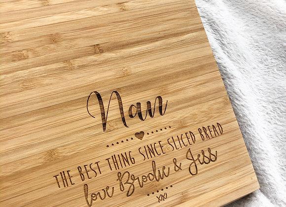 Nan chopping board