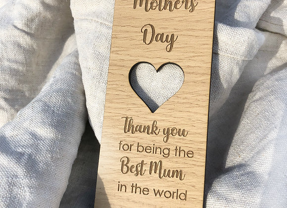 Generic Mother's Day bookmark