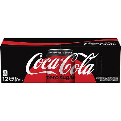 Coca-Cola Zero Sugar (12-Pack Case)
