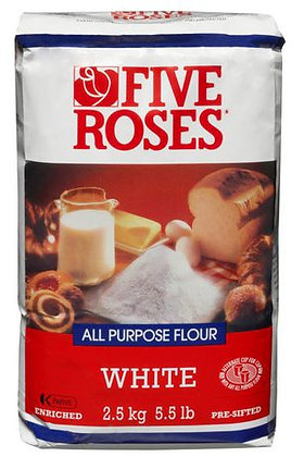 Five Rose White Flour (5.5Lb)