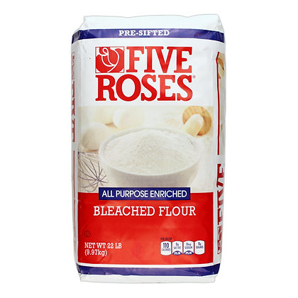 Five Rose Bleached Flour (22Lb)