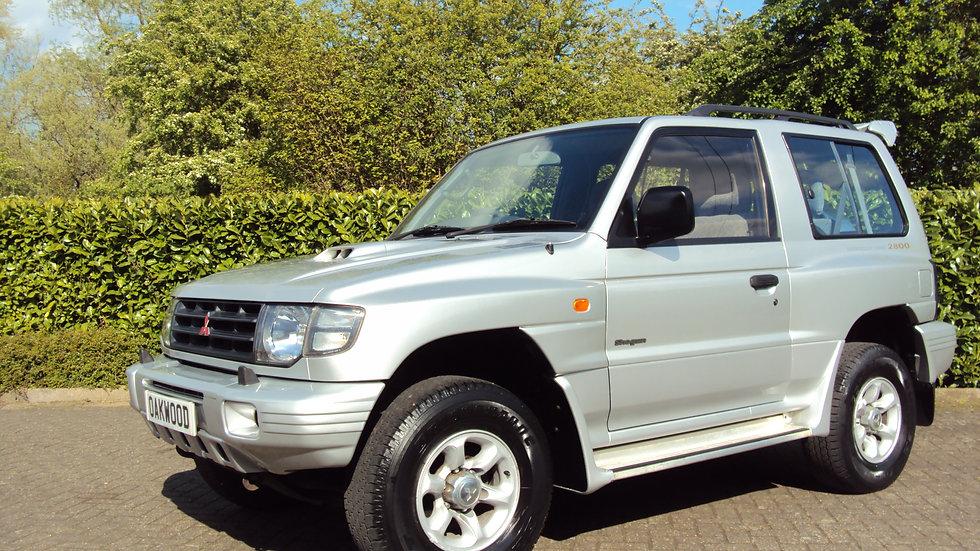1999 Mitsubishi Shogun 2.8TD GLS SWB