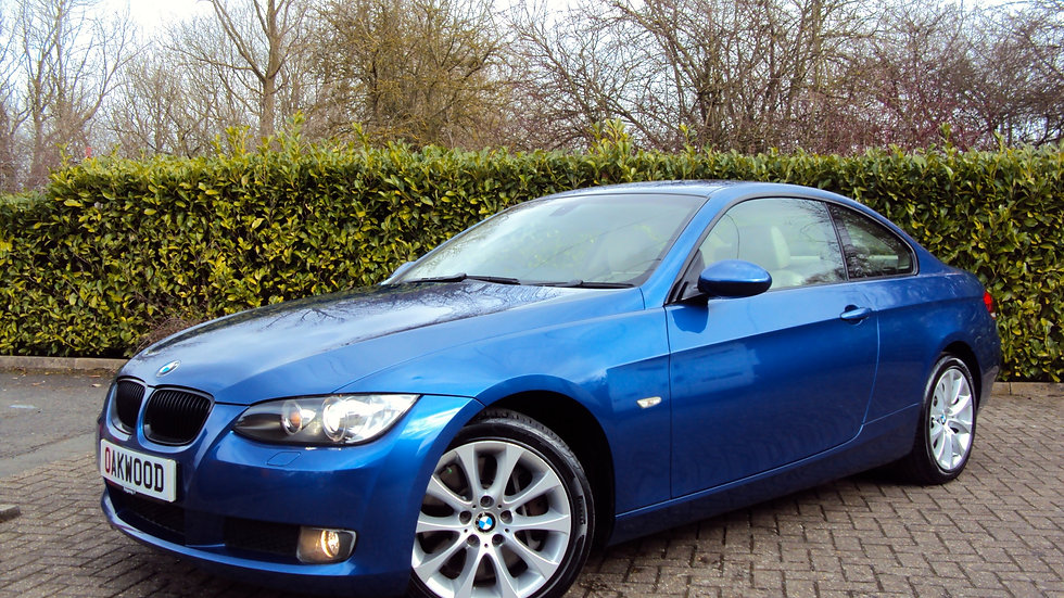 2008 BMW 330i SE Coupe Automatic with Paddle shift