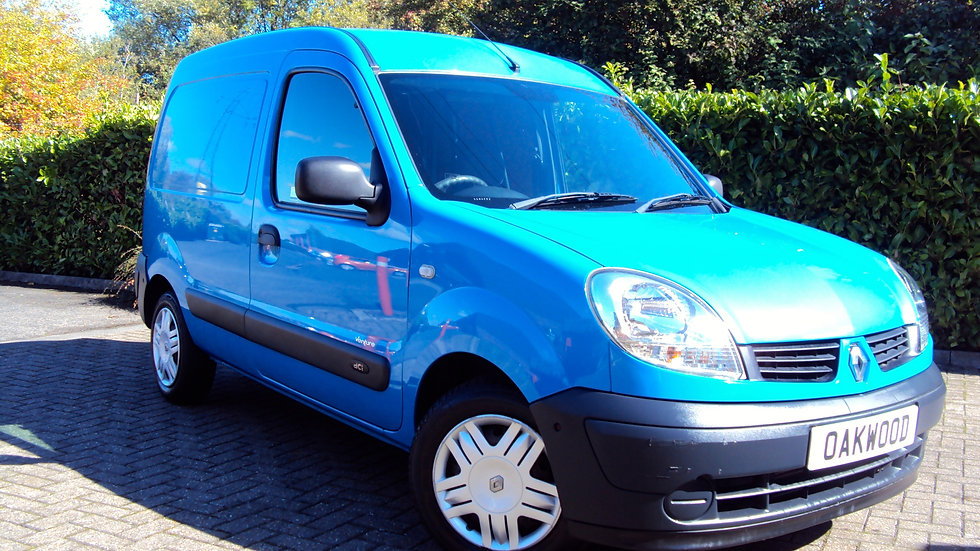 2008 Renault Kangoo 1.5 TD dCi SL17 70+ Special Edition