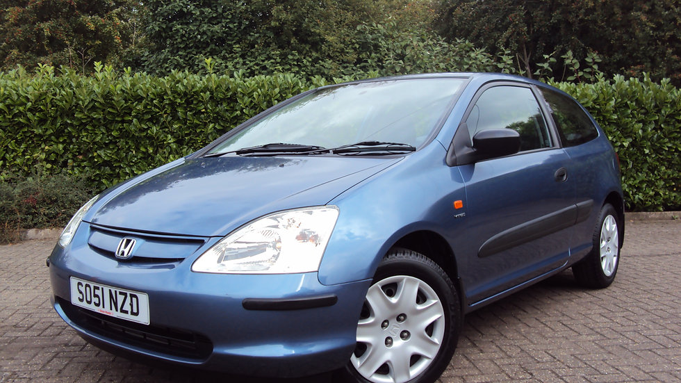 2002 Honda Civic 1.6i VTEC S Automatic