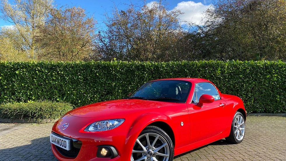 2015 '15' Mazda MX-5 2.0i Sport Tech Nav Coupe