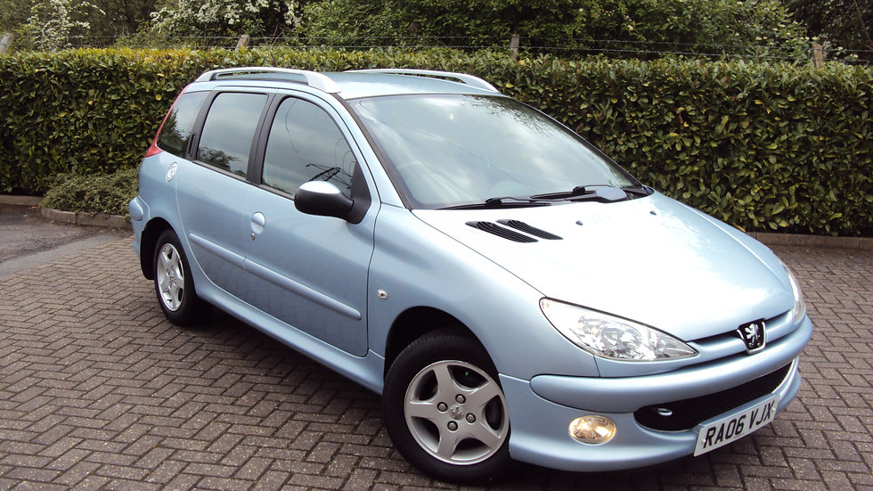 2006 Peugeot 206 1.4 Verve SW Estate