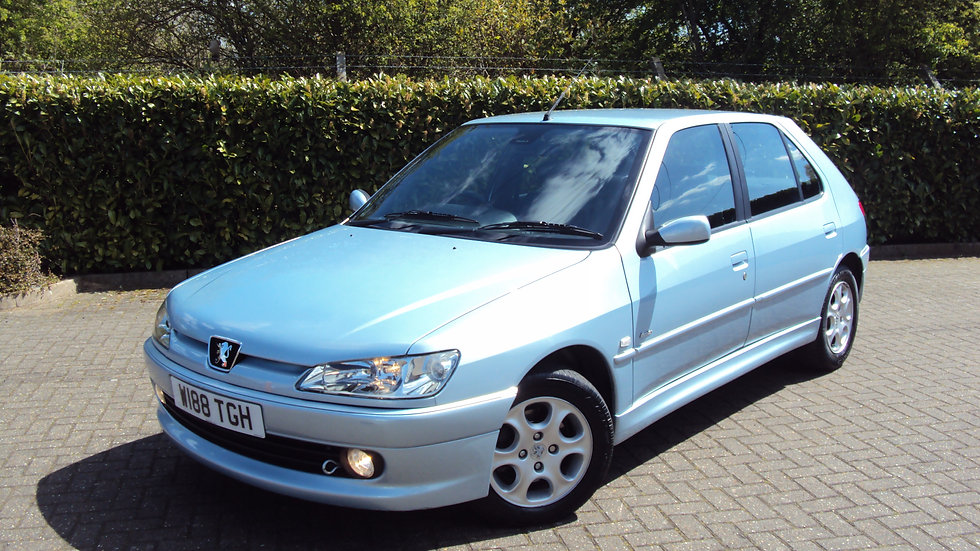 2000 Peugeot 306 2.0 HDi Meridian Limited Edition