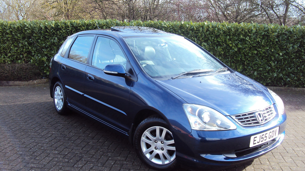 2005 Honda Civic 1.6i VTEC AUTOMATIC Executive