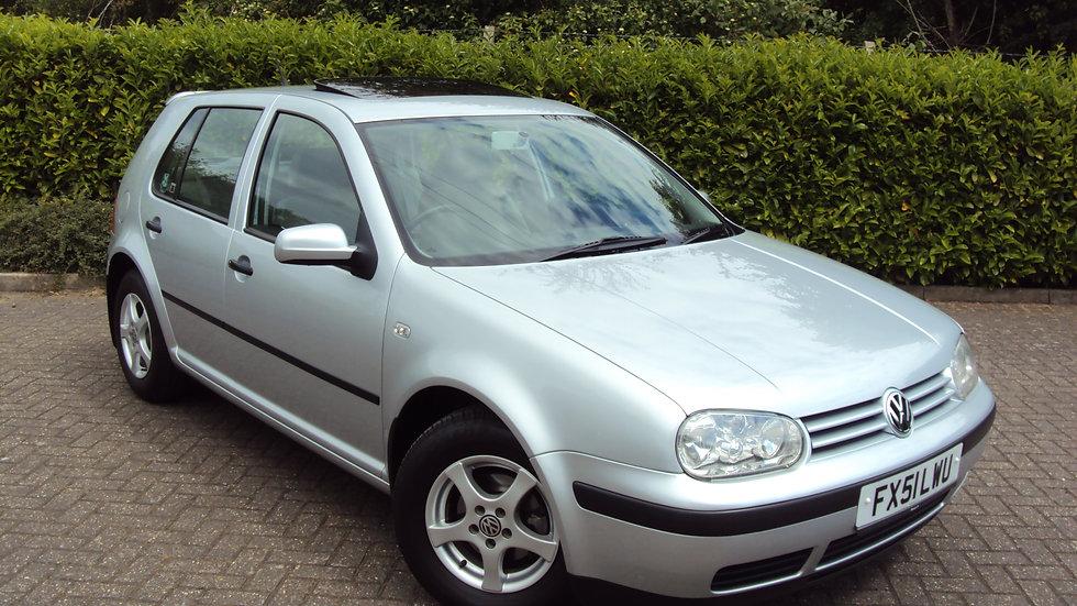2001 '51' Reg Volkswagen Golf 1.6 S