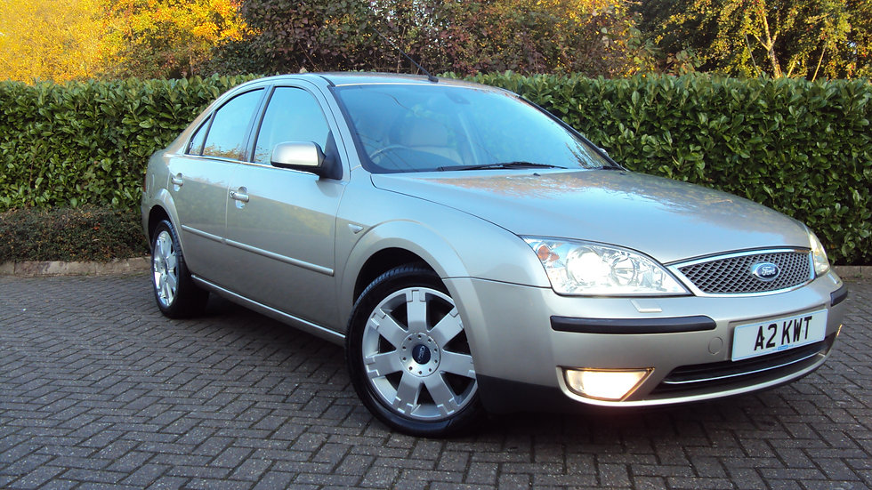 2004 Ford Mondeo 2.0 Ghia X Automatic