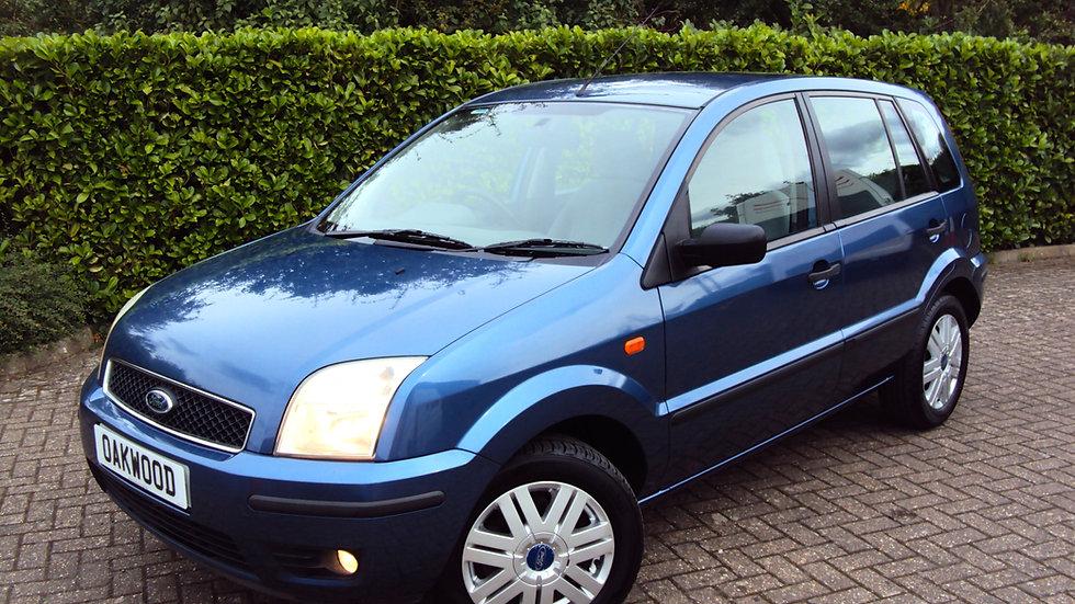 2005 '05' Ford Fusion 3 1.6i Automatic