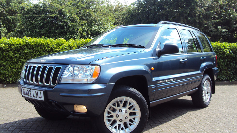 2002 Jeep Grand Cherokee 2.7 CRD Limited