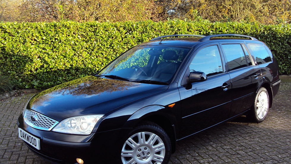 2001 '51' Ford Mondeo 2.0 TDDi Ghia X Estate