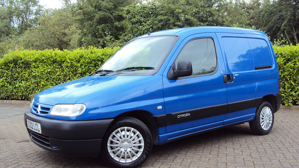 2002 Citroen Berlingo 800 LX  2.0 HDi Van