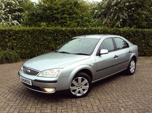 2005 Ford Mondeo 18i Silver 5dr