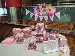 Candy bar for Princess party