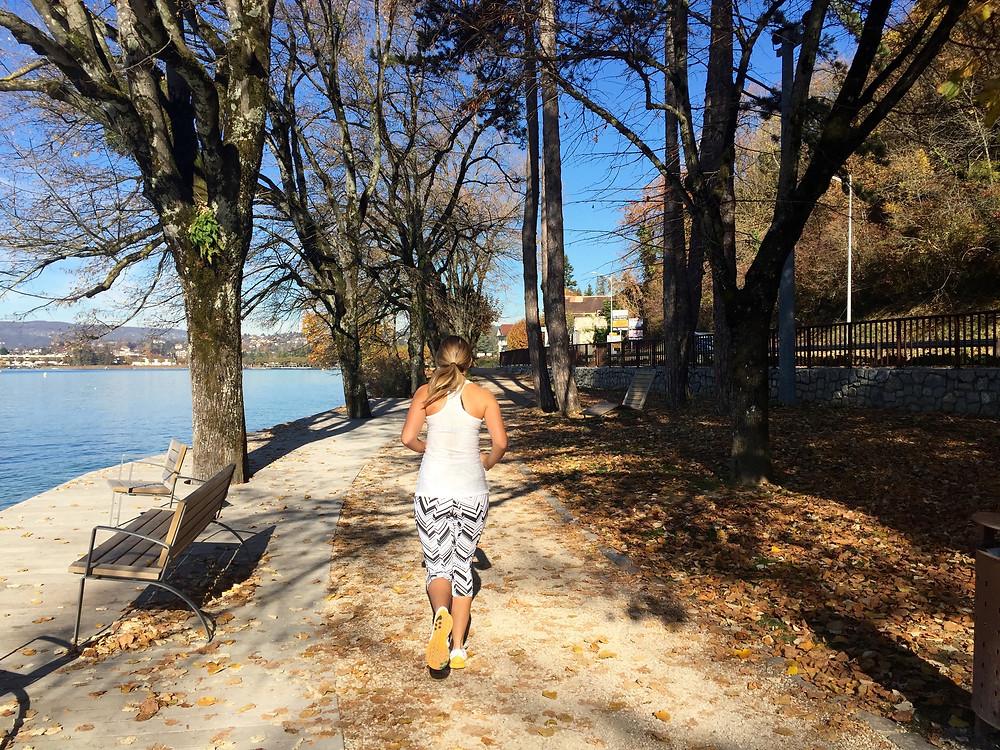 Running, Annecy