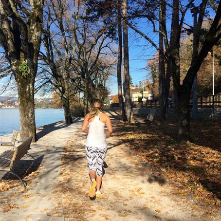 Continuer à courir l'automne
