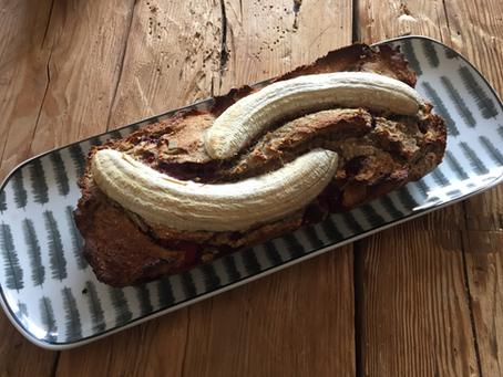 Banana Bread Sarrasin/Framboise