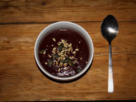 Une soupe patate douce / potiron