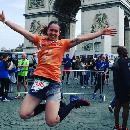 Marathon de Paris & Trail !