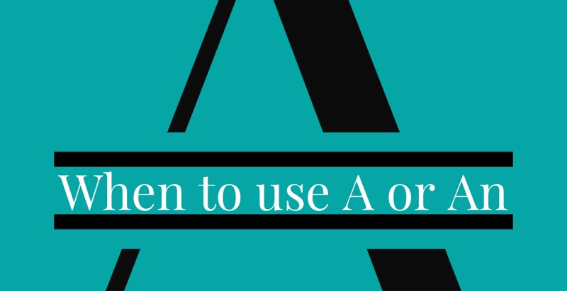Writing Tip: Articles and Acronyms