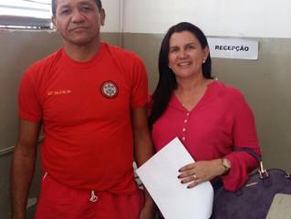 VEREADORA LUIZA SÁTYRO OFICIALIZA COM CORPO DE BOMBEIROS DE PATOS CAPACITAÇÃO EM PRIMEIROS SOCORROS