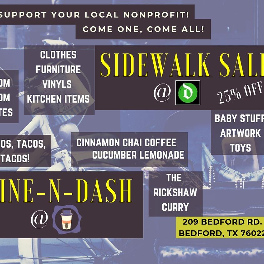 #WhyIGive Sidewalk Sale