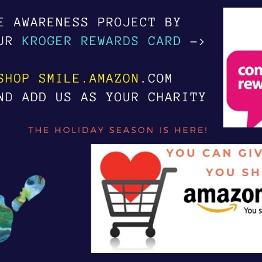 Shop @Kroger or Smile.Amazon.com