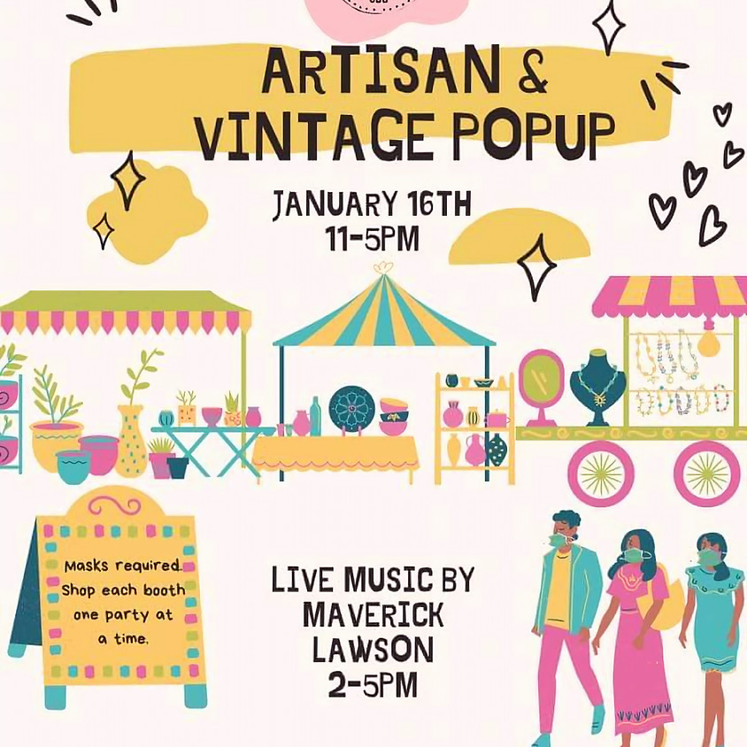 Artisan and Vintage Popup