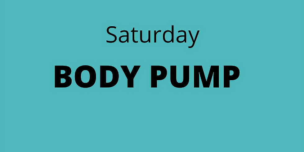 BODY PUMP - Saturday