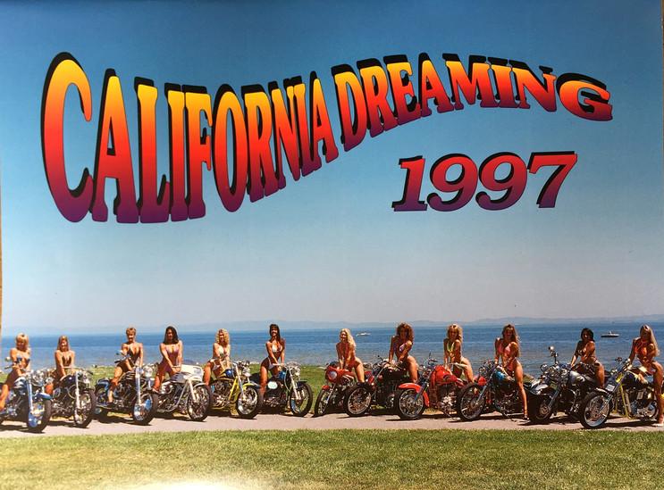 CA DREAMING CALENDAR