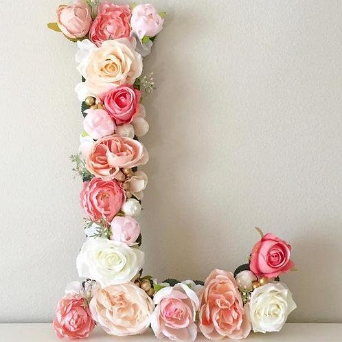 Letter L- Floral
