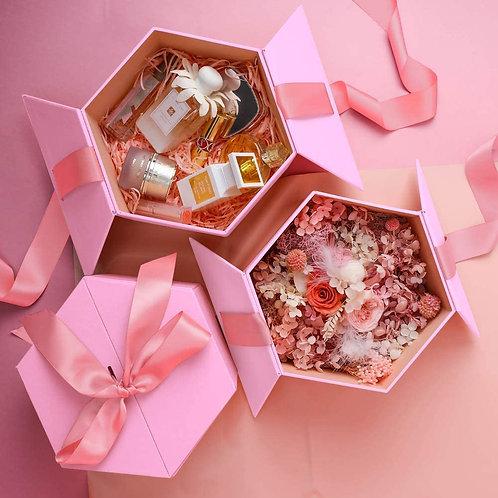 Pink Hexagon Magic