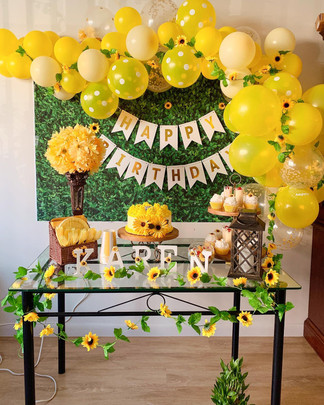 Karen's Sunflower 33rd Birthday Party